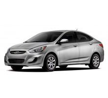 EVA коврики на Hyundai Accent 2011-2017